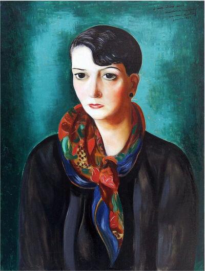 Moise Kisling, 'PORTRAIT DE MAURICIA COQUIOT', 1925