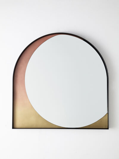 Kin & Company, 'Slip Mirror in Rose Gradient', 2019