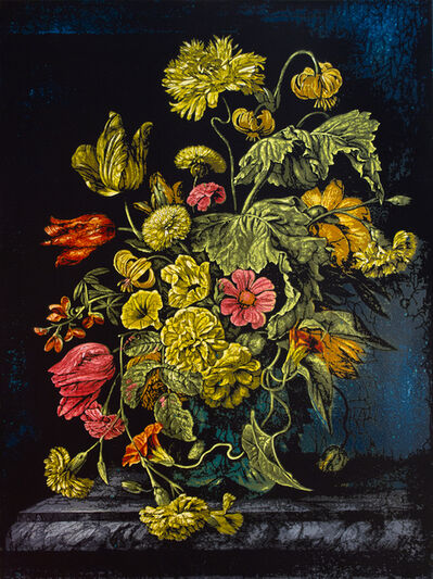 Logan Hicks, 'Still Life with Flowers VI - Homage to Rachel Ruysch', 2019