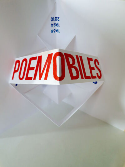 Julio Plaza, 'Poemóbiles', 1974