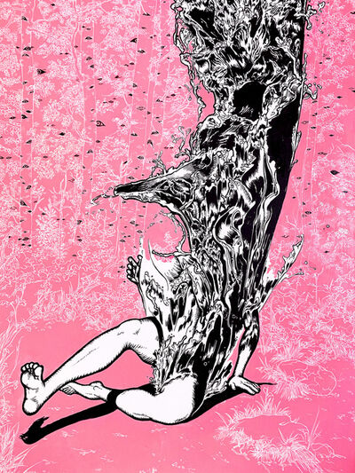 Jiyoun LEE-LODGE, 'Waterman - Falling 2', 2020