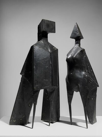 Lynn Chadwick, 'Maquette V Two Winged Figures', 1973