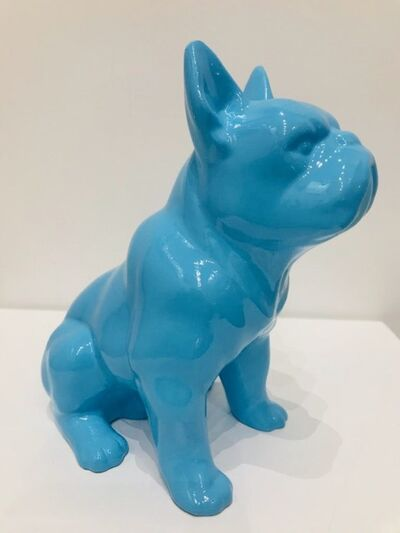 Design by Jaler, 'Boxer Dog - Blue', 2019