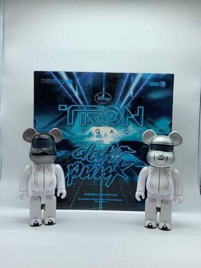 BE@RBRICK, 'Daft Punk x TRON LEGACY 400% (Set de 2)', 2010