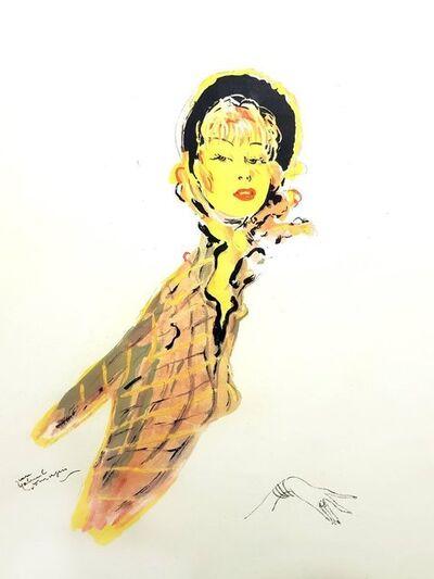 """Jean Gabriel Domergue, 'Lithograph """"Parisienne"""" after Jean-Gabriel Domergue', 1956"""