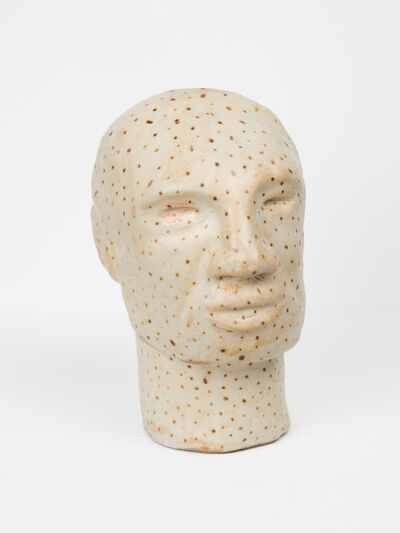 Becky Suss, 'Untitled (bust with orange spots)', 2013