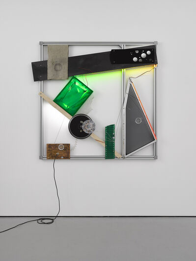 Haroon Mirza, 'Attraction and illumination', 2020