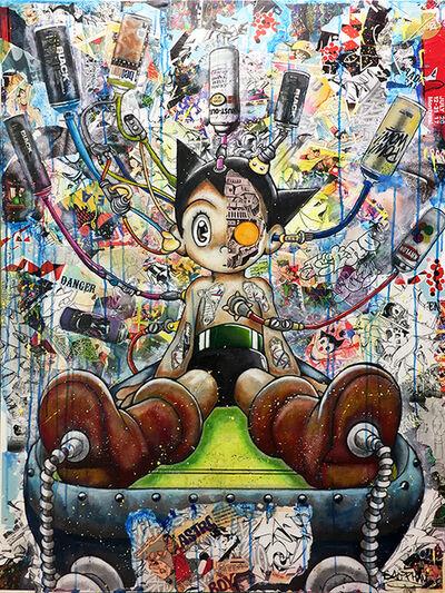 Bao, 'Astroboy powered up', 2017