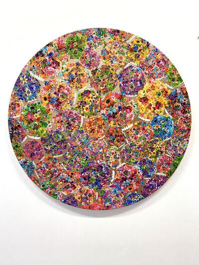Tetsutaro Kamatani, 'PROLIFERATION- FLOWER SKULL', ca. 2020