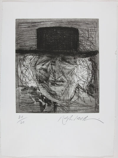 Ralph Steadman, 'Robert Graves', 1994