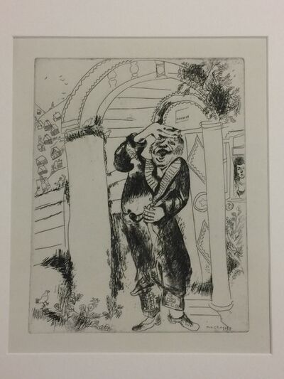 "Marc Chagall, 'Manilov – from ""Les Ames Mortes""'"