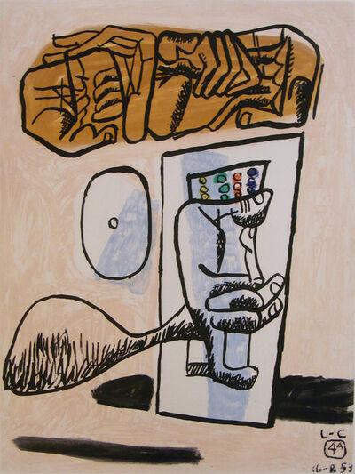 "Le Corbusier, '#4 from the series ""Unité""', 1965"