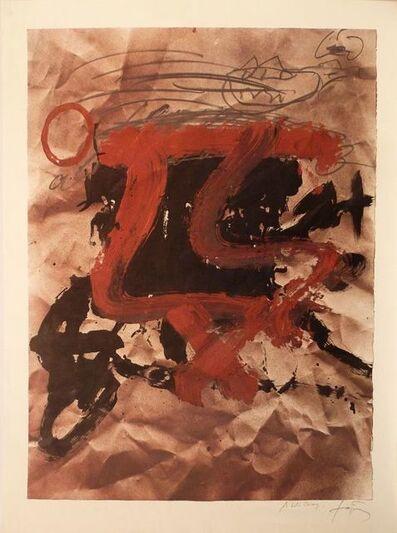 Antoni Tàpies, 'No title', ca. 1970