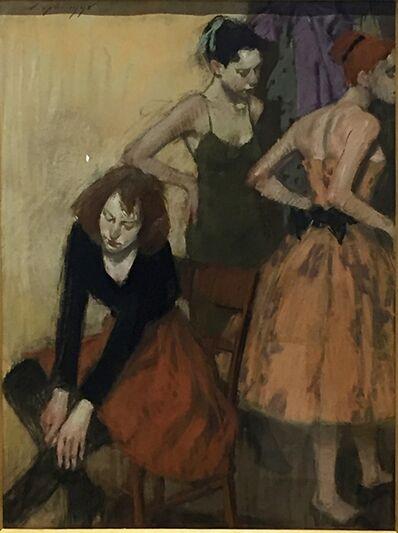 Malcolm T. Liepke, 'Models Dressing ', 1999