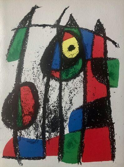 Joan Miró, 'Original Lithograph VII', 1975