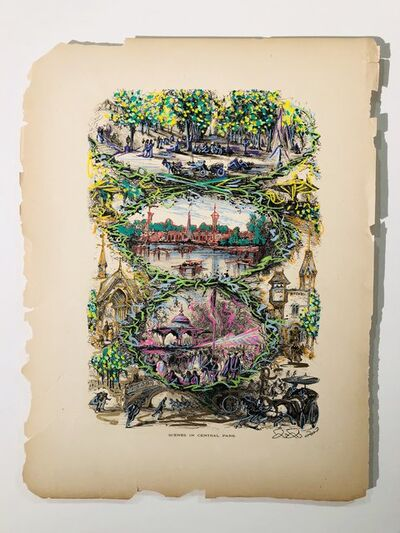 Chinon Maria, 'Scenes In Central Park'