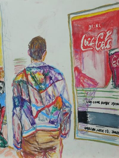 Luong Thai, 'Museum series-Jacket and Coke', 2019