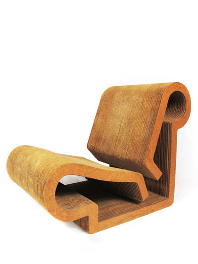 Frank Gehry, 'Easy Edges Contour Chair', 1969-1973