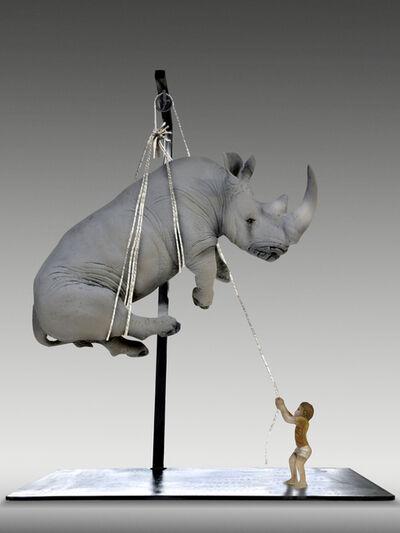 Stefano Bombardieri, 'Tobia e il rinoceronte', 2017