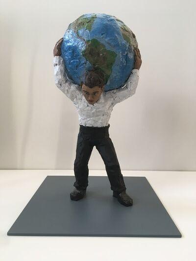 Stephan Balkenhol, 'Atlas', 2016
