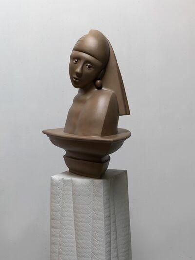Roger Reutimann, 'Observer II (Girl with Pearl Earring)', 2019