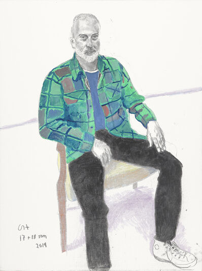 David Hockney, 'Sully Bonnelly', 2019