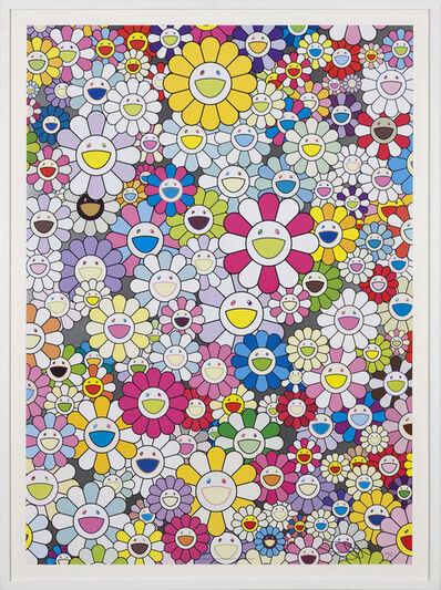 Takashi Murakami, 'An Homage to Yves Klein, Multicolor D', 2012