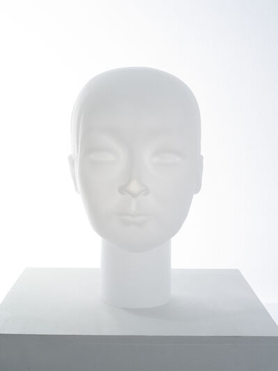 Prune Nourry, 'Imbalanced Head #8 Jianwei (Glass)', 2020