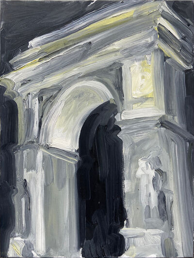 Molly Must, 'Arch at Night', 2021