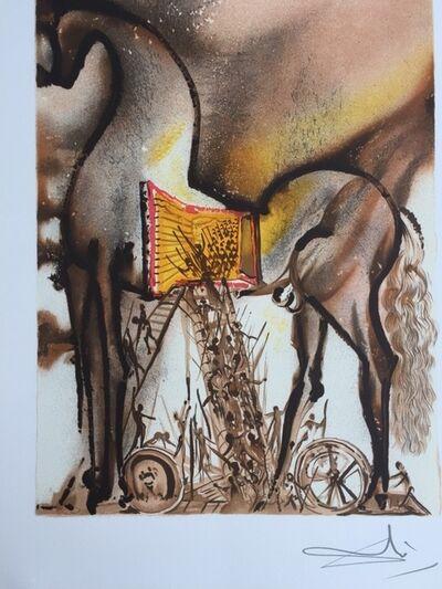 Salvador Dalí, 'Le cheval de troie', 1983