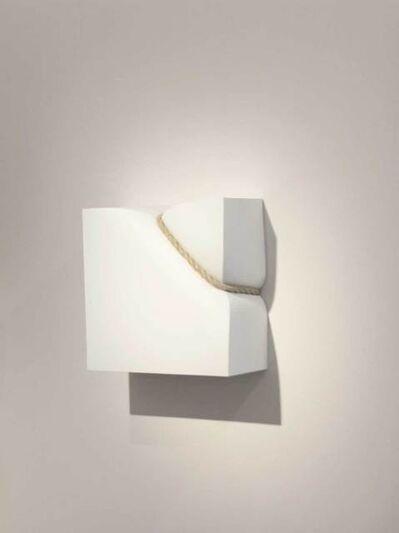 Stephan Marienfeld, 'Wall-Bondage I - Polyester weiß', 2018