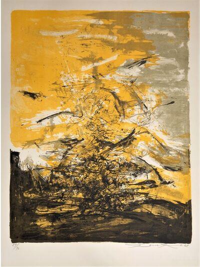 Zao Wou-Ki 趙無極, 'Untitled ', 1968
