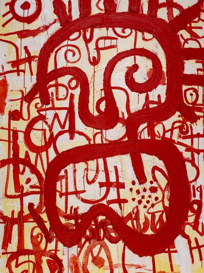 Victor Ekpuk, 'Composition in Red 2', 2019