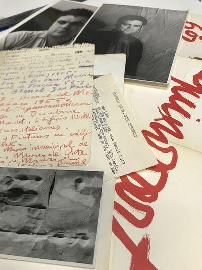 Josep Guinovart, 'Photographic and documentary set ', 1959-1980
