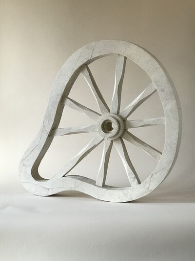 Kelly Bugden + Van Wifvat, 'Whimsical Wooden Sculpture: 'Wheel'', 2018