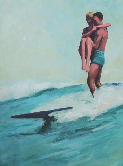 TS Harris, 'Tandem Surfers', 2013