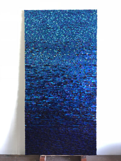 Katsumi Hayakawa, 'Blue Reflection No. 1801', 2018