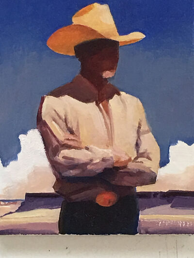 """Gary Ernest Smith, '""""Man of the West""""', 2018"""