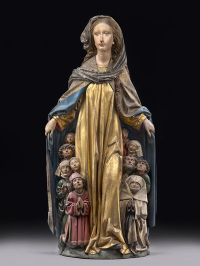 Michel Erhart, 'Mary with the protective mantle', ca. 1480