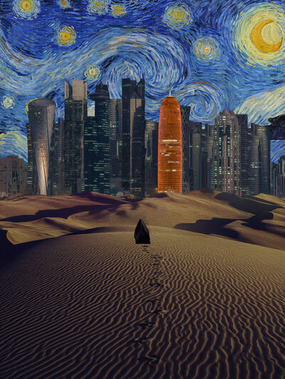 Nasser Al-Kubaisi, 'Qatarry Night ', 2019
