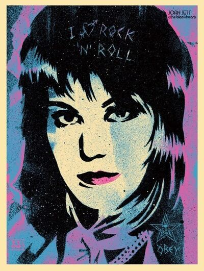 Shepard Fairey, 'Joan Jett', 2015