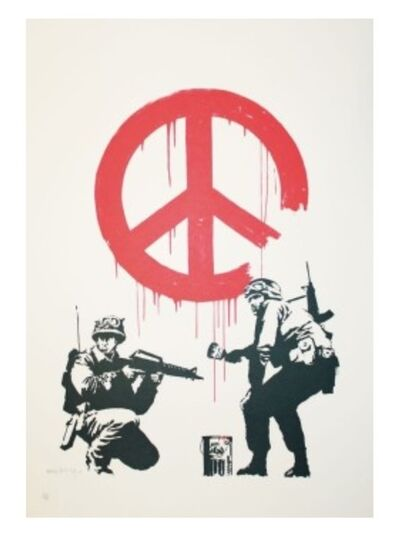 Banksy, 'CND Soliders', 2003