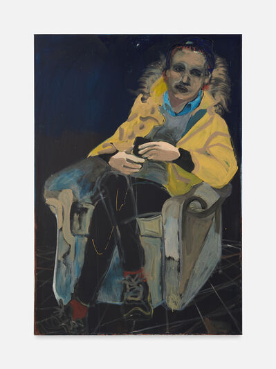 Christian D. Stefanovici, 'Johann sitzend mit Stern', 2020