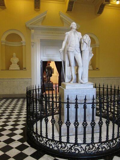 Jean-Antoine Houdon, 'George Washington', 1788-1792