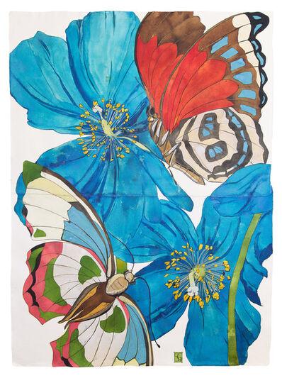 Sarah Graham, 'Meconopsis baileyi II', 2019