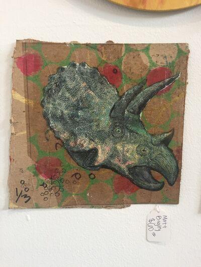 Matt Bagley, 'Triceratops Moses 1/3', 2019