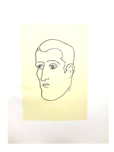 "Henri Matisse, 'Original Lithograph ""Apollinaire I"" by Henri Matisse', 1952"