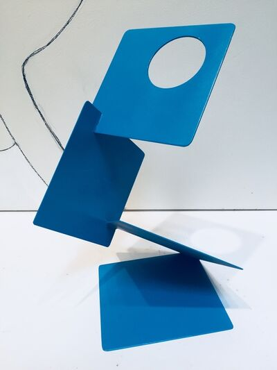 Dennis Leri, 'Blue Squares'