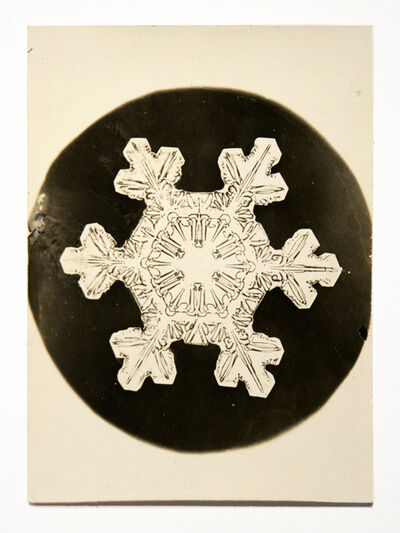 Wilson A. Bentley, 'Snowflake', 1888-1927