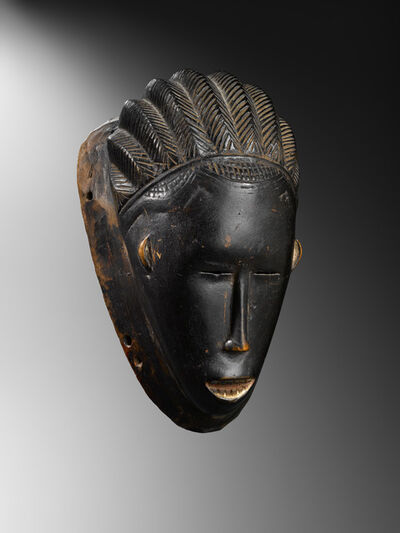 'Gouro mask', late 19th century